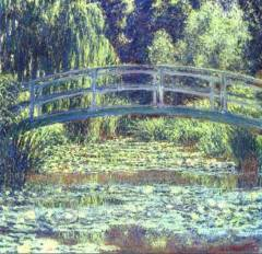 Japanese Bridge by Monet